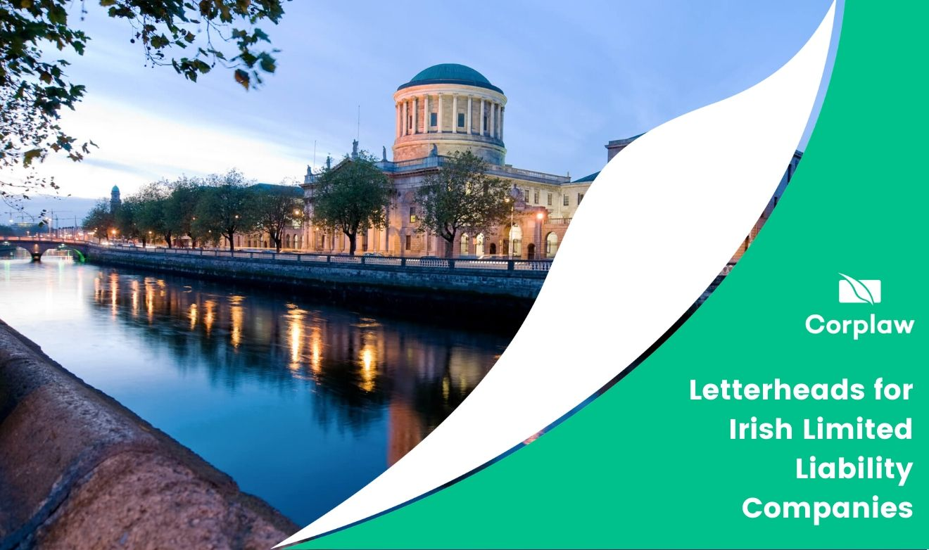 Letterheads for Irish Limited Liability Companies